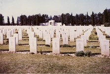 Photo courtesy of Garry Harding - Gaza Commonwealth War Cemetery 1967