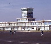Asmara, Ethiopia (now Eritrea) - Asmara International Airport, courtesy of George Mayer.