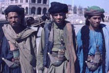 Yemen tribesmen, courtesy of George Mayer.
