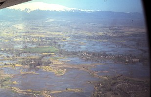 June 1966 Lakes around Srinagar, flight to Rawalpindi - image courtesy of Jan Vennix